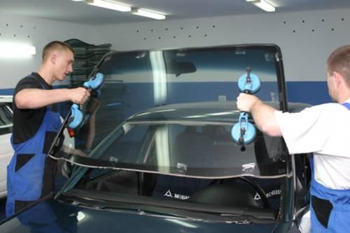 Как вставить стекло на авто