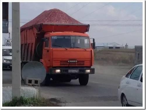 Какие грузы перевозит автомобильный транспорт?