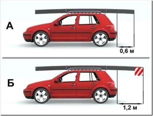 Как правильно перевозить груз на легковом автомобиле