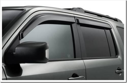Как установить дефлекторы на окна автомобиля?