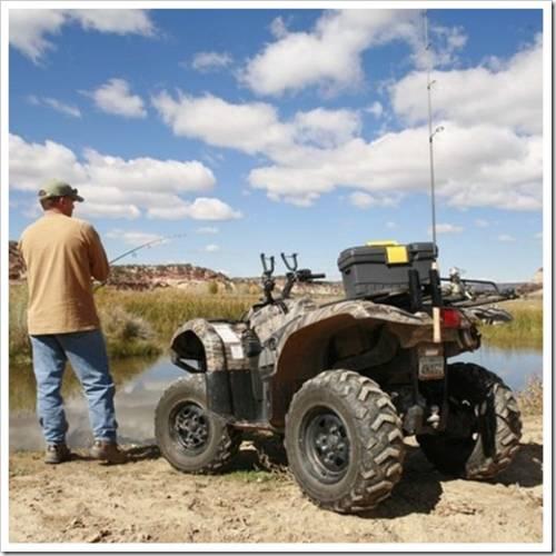 Какой квадроцикл выбрать для охоты и рыбалки?