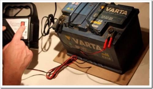 Как заряжать необслуживаемый аккумулятор автомобиля зарядным устройством?
