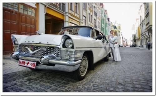 Какое авто арендовать на свадьбу