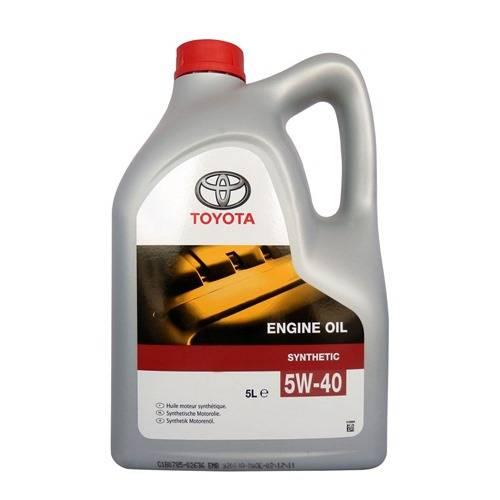 Виды и характеристики моторных масел Toyota