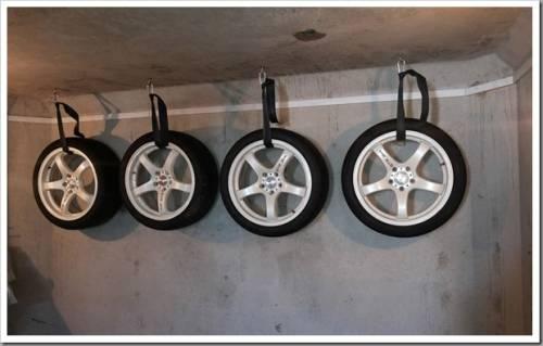 Как правильно хранить зимние шины