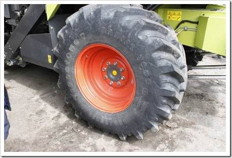 Характеристика шин тракторов и какое давление в них