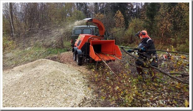 Виды техники для измельчения веток и деревьев