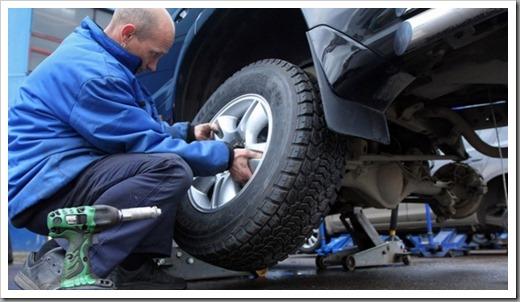 Как правильно поставить зимнюю резину на машину