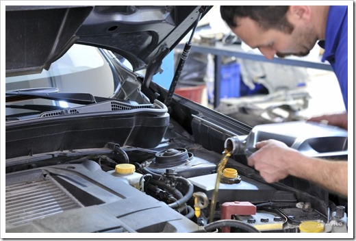 Технические жидкости в автомобиле и их замена