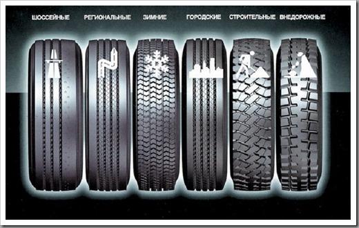 Какие бывают виды грузовых шин и как их выбрать