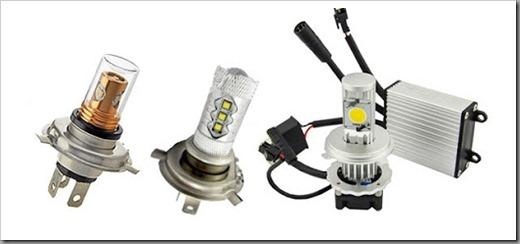 Виды LED-ламп для фар головного света авто и как их выбрать