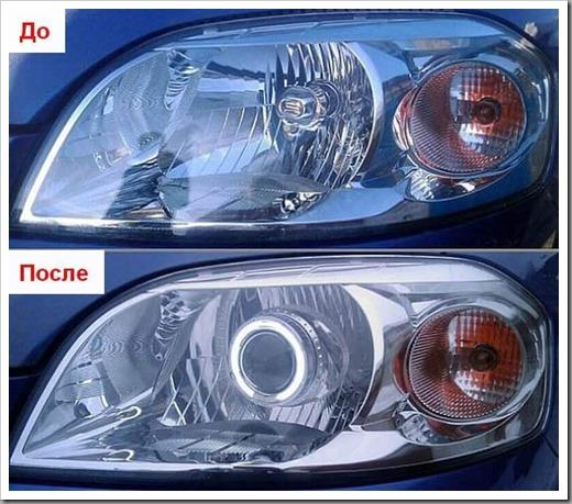 Какие есть варианты тюнинга оптики автомобиля