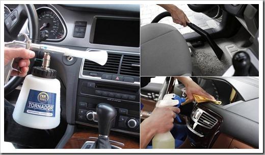 Химчистка салона авто — что включает в себя и как делается