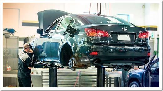 Что входит и как делается техническое обслуживание автомобилей Lexus?