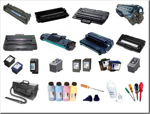 Виды расходных материалов для принтеров и МФУ