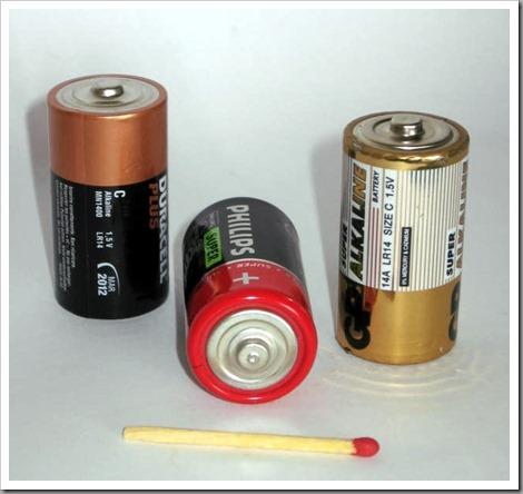 Батарейки типоразмера С (R14/LR14) — характеристики и где применяются