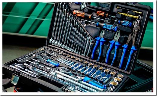 Виды инструментов и оборудования для ремонта автомобилей