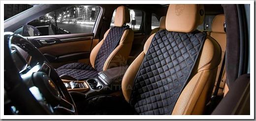 Накидки для сидений авто из алькантары — что это и как выбрать