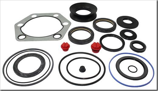 Какой материал используется для ремкомплекта рулевых реек