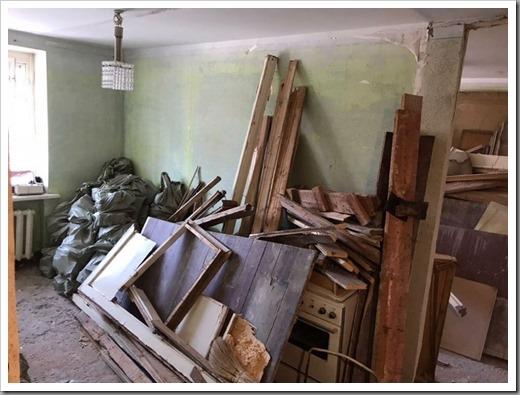 Как правильно вывезти строительный мусор из квартиры