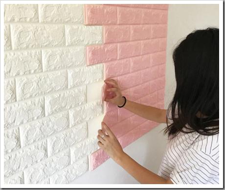 На какие стены можно клеить самоклеющиеся 3Д панели